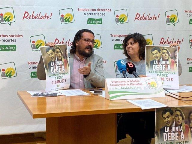 IU inicia una campaña para que la Junta pague la deuda de la Patrica