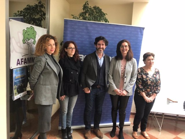 El diputado de Tercer Sector, Francisco José Martín, visita Afammer en Ronda