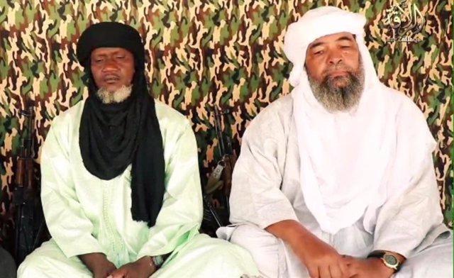 Iyad ag Ghali, líder de JNIM, y Amadou Koufa