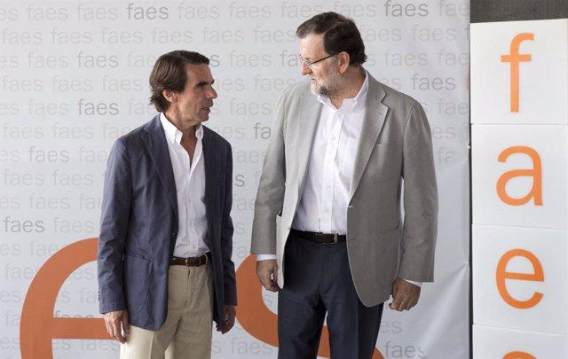 José María Aznar i Mariano Rajoy