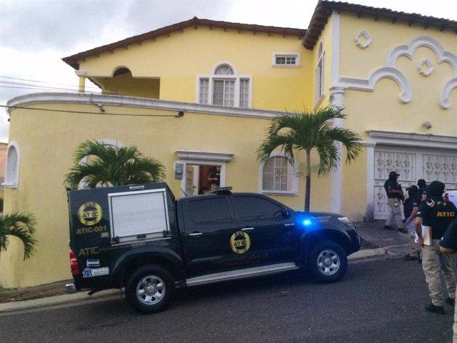 Detención de un alto cargo policial en Honduras