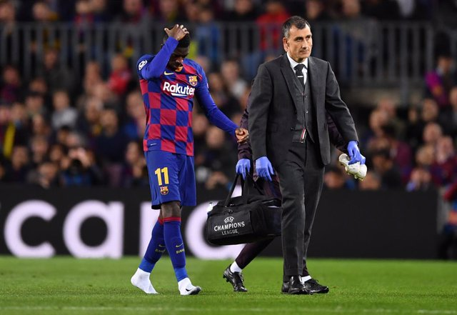 Fútbol.- Ousmane Dembélé estará unos 6 meses de baja tras su operación