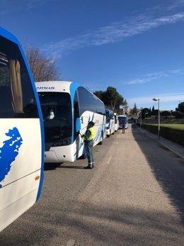 Inspecciones de autobuses