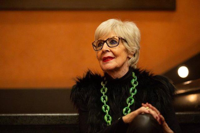 L'actriu Concha Velasco, en la presentació de l'obra 'El funeral', Barcelona (Espanya), 11 de febrer del 2020.