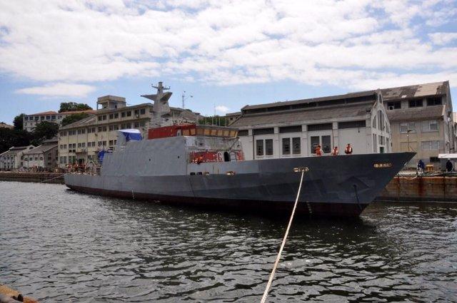 Nave de la marina brasileña
