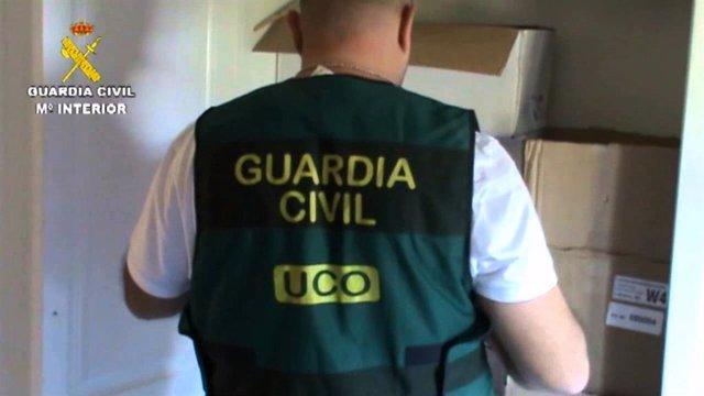 Foto de recurso de la UCO de la Guardia Civil