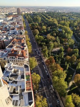 Calle Menéndez Pelayo de Madrid