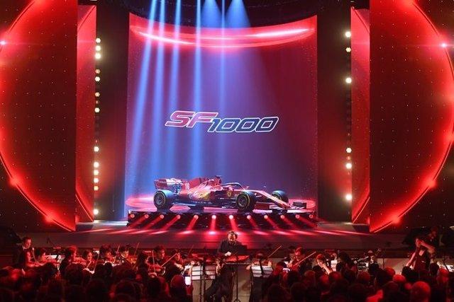 Fórmula 1.- Ferrari presenta su nuevo SF1000, el monoplaza con el que tratará de