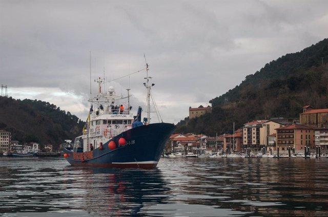 Europa.- El 'Aita Mari', con 158 migrantes a bordo, desembarcará en el puerto si