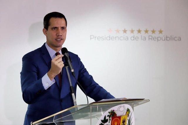 """Venezuela.- Guaidó, tras su llegada a Venezuela: """"Nunca la dictadura estuvo tan"""