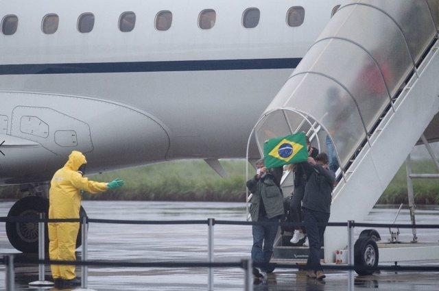Repatriación de los 58 brasileños