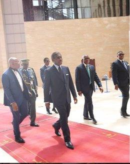 El vicepresidente de Guinea Ecuatorial, Teodoro Nguema Obiang, también conocido como Teodorín
