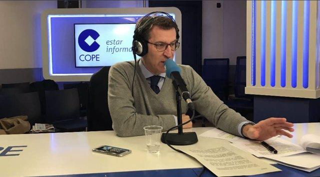 Entrevista al presidente de la Xunta de Galicia, Alberto Núñez Feijóo