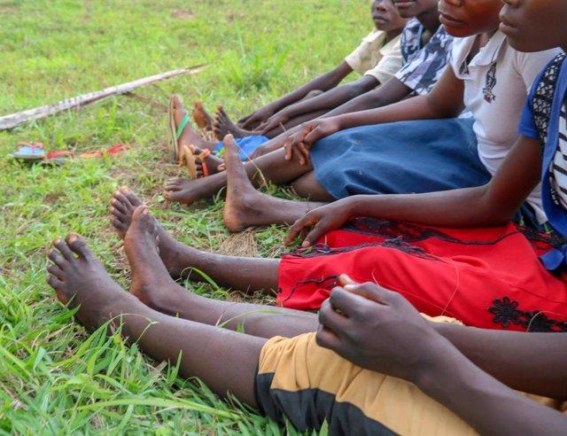 Exniños soldados en un programa de reintegración apoyado por World Vision