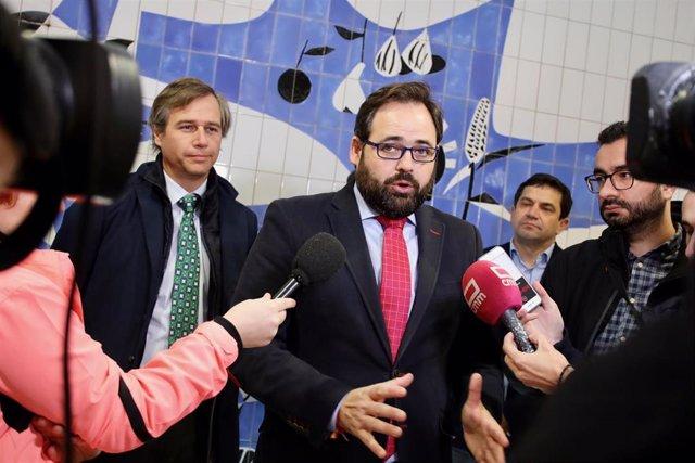 El presidente regional del PP, Paco Nüñez, en la Intermunicipal del PP de Ciudad Real.