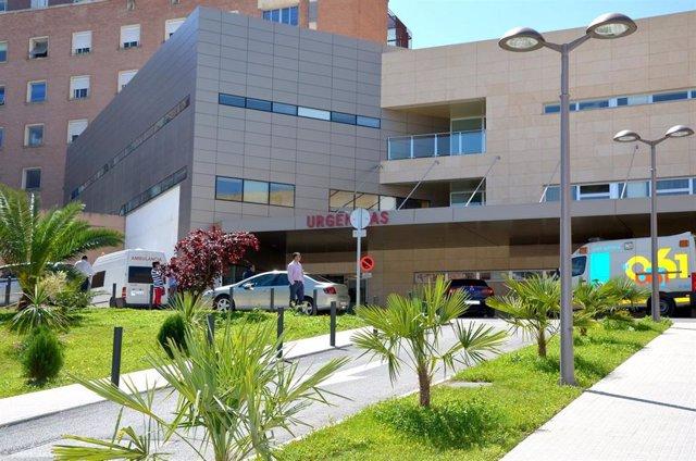 Urgencias del Complejo Hospitalario de Jaén, en una imagen de archivo