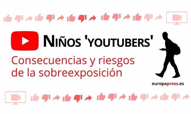 Niños 'youtubers': riesgos de desprotección, acoso y abuso por la sobreexposició
