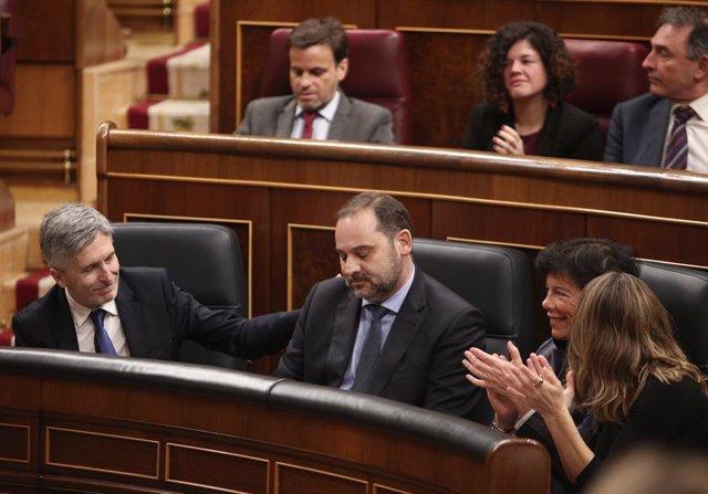 """Marlaska asegura que Delcy Rodríguez no entró en espacio Schengen y que """"no dio"""