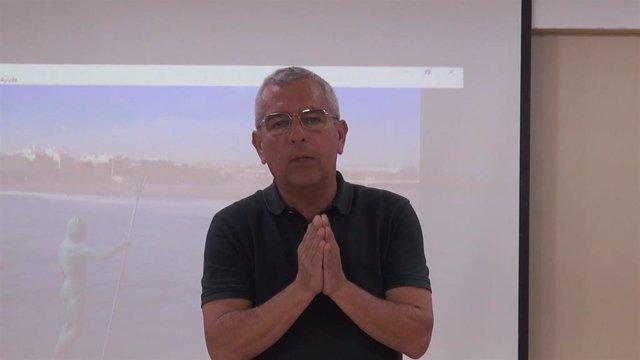El impulsor y director de 'Canarias, 1500 Km de Costa', Sebastián Quintana