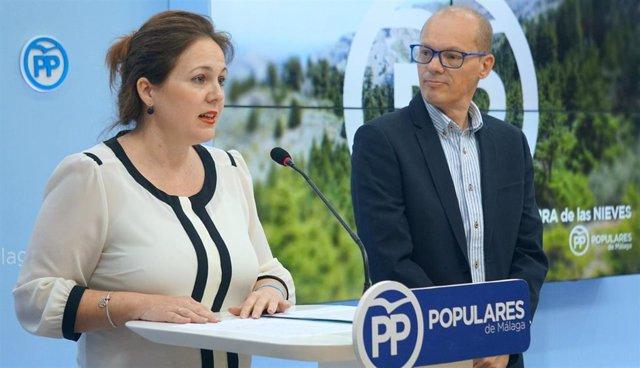 Natacha Rivas y José Antonio Víquez PP rural población despoblación