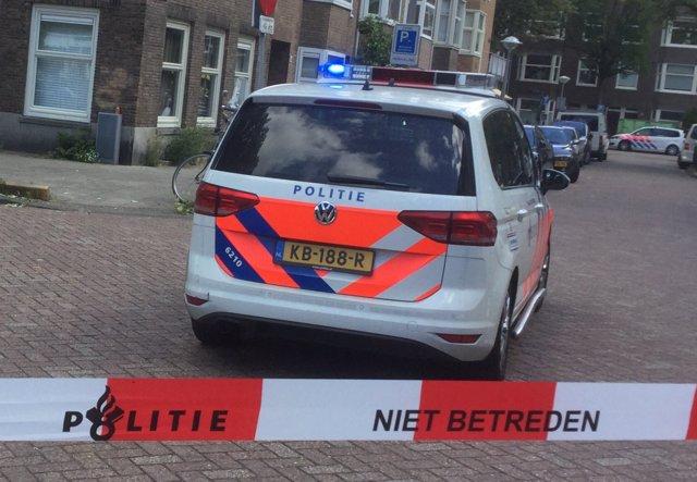 Fotografía recurso policía de Amsterdam