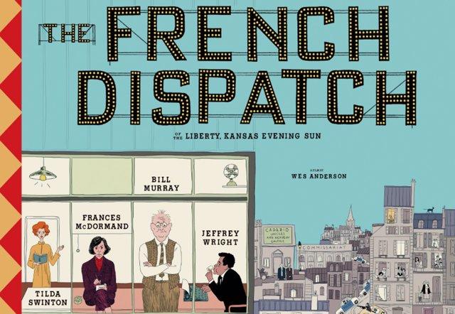 Cartel de The French Dispatch, lo nuevo de Wes Anderson