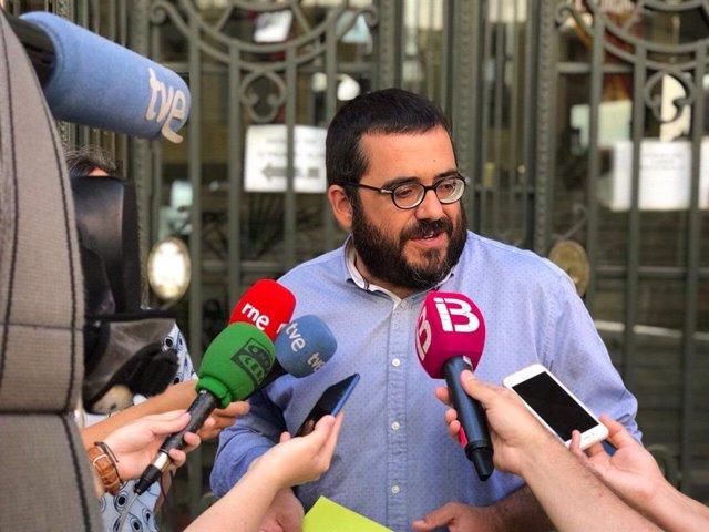 El senador autonómico Vicenç Vidal.