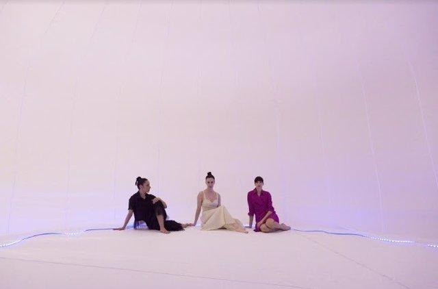 """La compañía valenciana Taiat Dansa estrena  su último espectáculo 'Tres', inspirado en el """"Ballet triádico"""" de Oskar Schlemmer"""