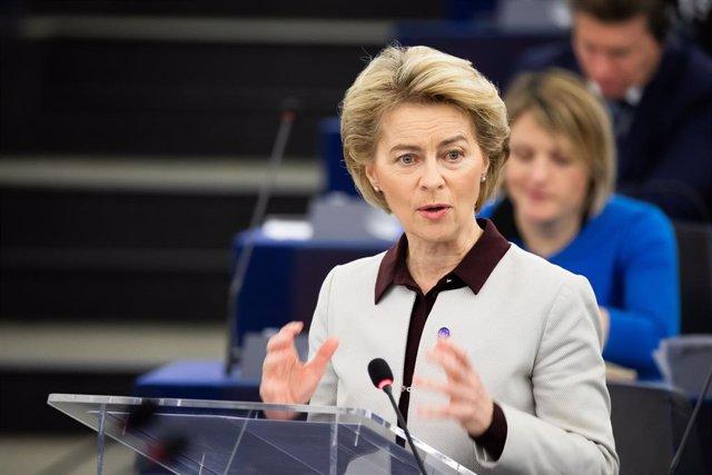 """UE.- Von der Leyen pide a los países la """"misma atención"""" a nuevas prioridades qu"""