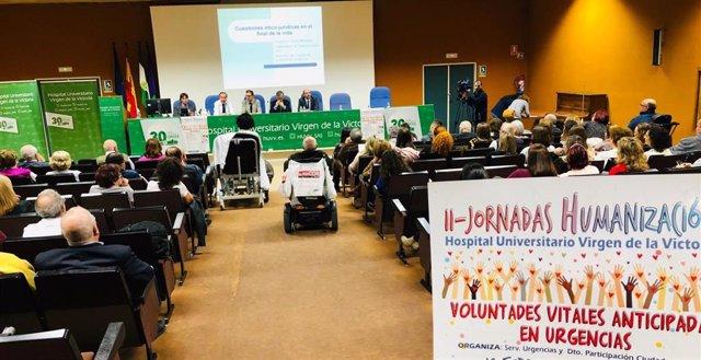La Jornada de Humanización en Hospital Clínico de Málaga