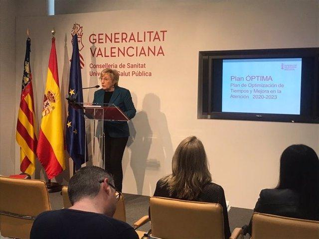 Barceló presneta el Plan de Optimización de Tiempos y Mejora de la Atención 2020-2023, Óptima