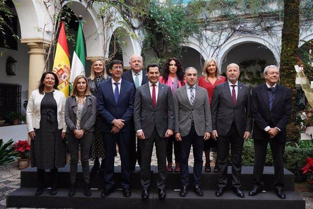 Reunión del Consejo de Gobierno en Córdoba.