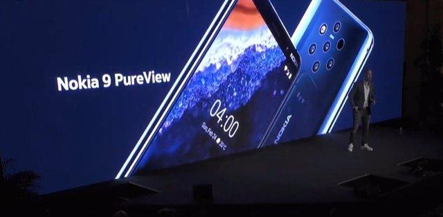 Presentació de Nokia 9 PureView a l'MWC 2019