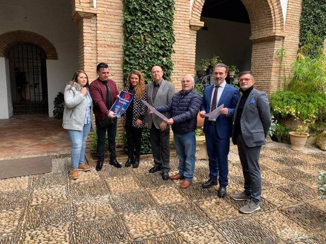 La Fundacion Cajasur presenta en el Palacio de Viana de Córdoba el ciclo 'Conciertos Sentidos. Flamenco en la Magdalena'.