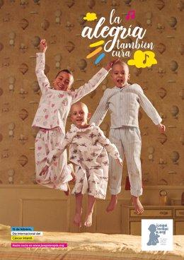 Cartel de la campaña 'La alegría también cura'
