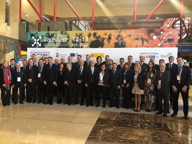 Inauguración del Foro Transfiere Málaga 2020