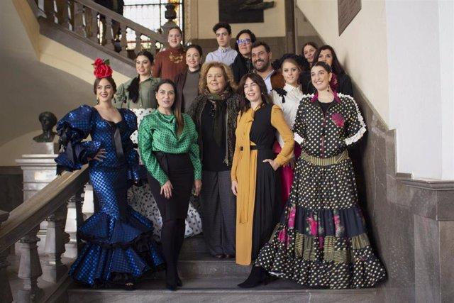 Imagen de la 'Pasarela Flamenca Granada'