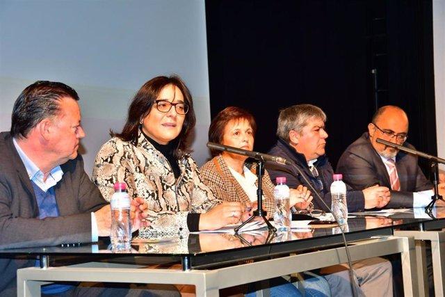 Imagen sobre las jornadas de biomasa celebradas en Huéscar (Granada)