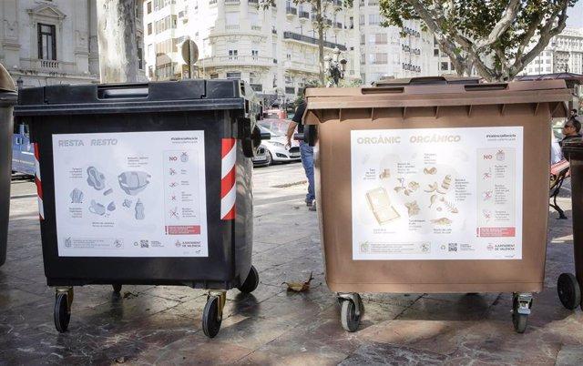 Gráficos en los contenedores de València