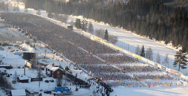 Esquiadores.