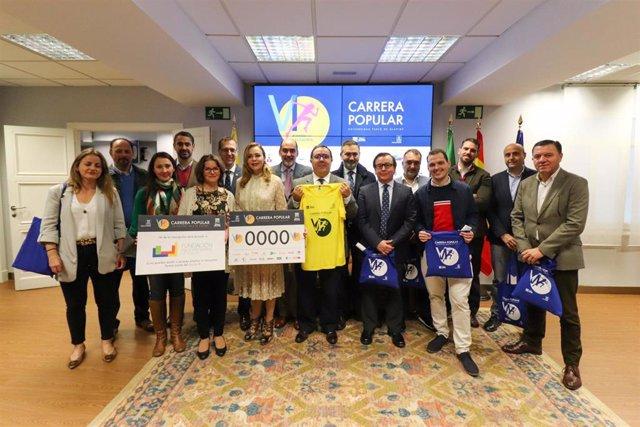 Presentación de la VI Carrera Popular Universidad Pablo de Olavide