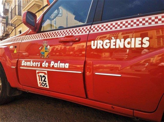 Foto de recurs dels Bombers de Palma