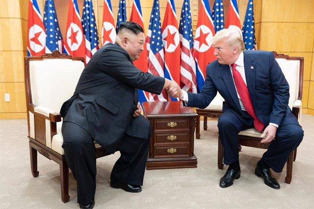 Corea.- Trump, dispuesto a reunirse de nuevo con Kim con la vista puesta en un a