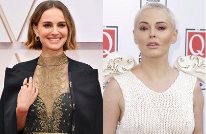 """Rose McGowan critica la capa feminista de Natalie Portman en los Oscar: """"Es un apoyo falso"""""""