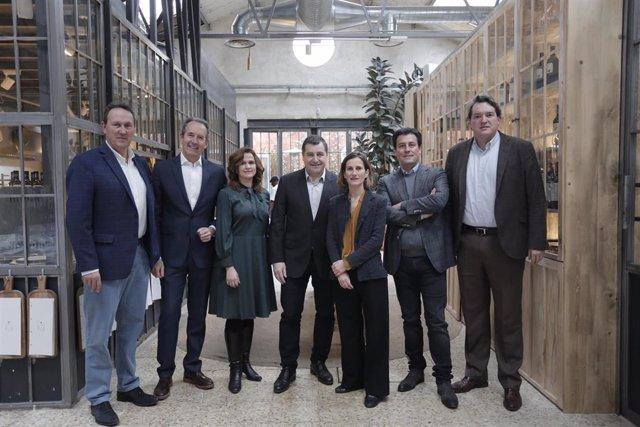 Presentación de la Cata del Barrio de la Estación 2020 en Madrid