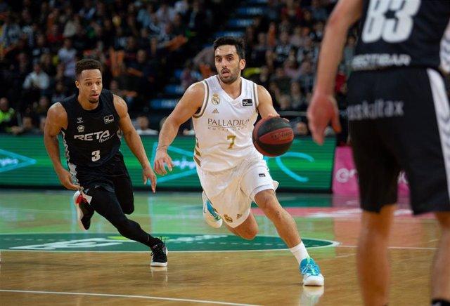 Campazzo en el Bilbao Basket - Real Madrid