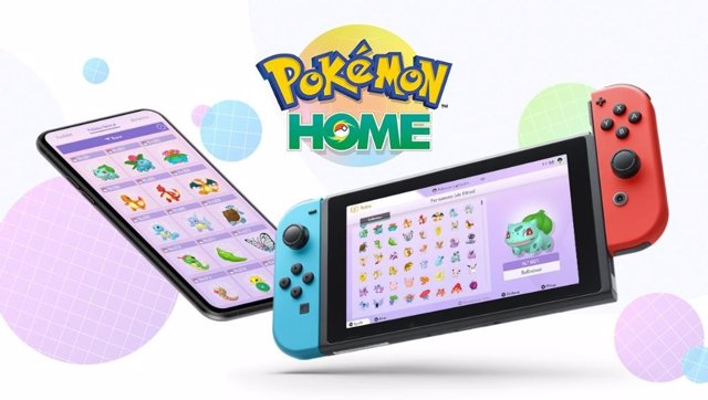 Ya está disponible Pokémon Home para móviles iOS y Android