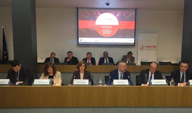 Asamblea de La Federación Nacional de Empresarios de Ocio y Espectáculos.