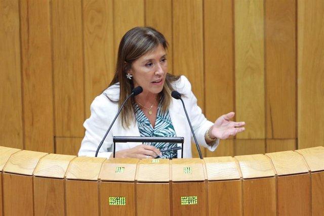 Conselleira de Medio Ambiente, Beatriz Mato, se despide