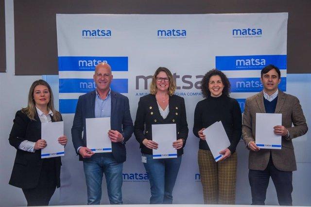Firma del convenio de colaboración del programa 'Pueblos'